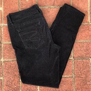 SEVEN Women's Black Velvet Pants